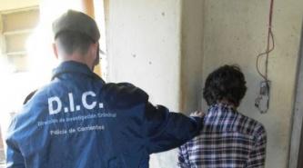 Corrientes: menor arrebata celular a una mujer y es atrapado por vecinos