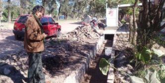 Avanza la construcción del alcantarillado en Sáenz Peña