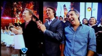 Los Alonsitos estuvieron con Tinelli en ShowMatch