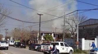 Apagaron el Incendio en el barrio San Cayetano