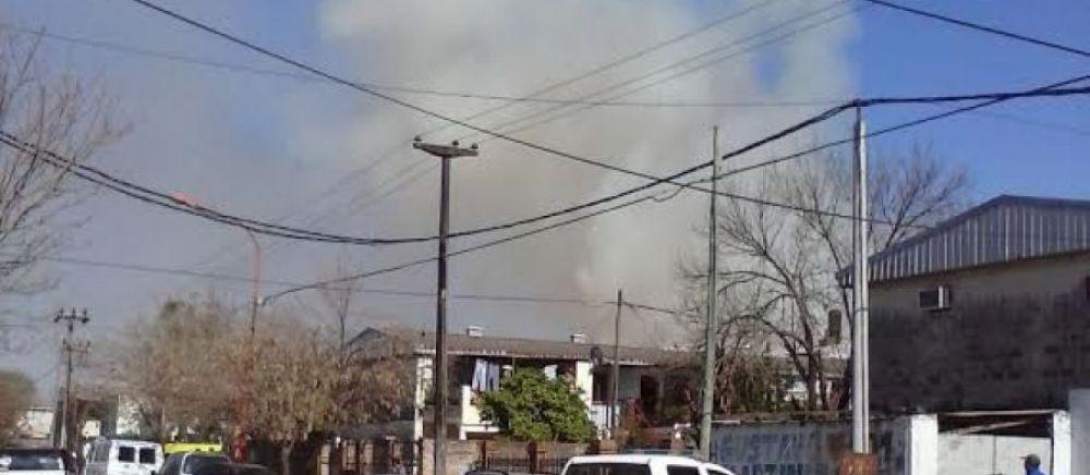 Se incendian al menos 5 casas en el barrio San Cayetano de Resistencia