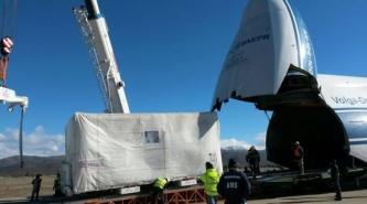 El satélite argentino ya partió hacia la Guayana Francesa