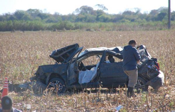 Accidente en Ruta 95: una mujer murió y sus dos hijas resultaron heridas