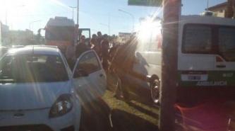 Corrientes: choque múltiple involucró a cinco vehículos