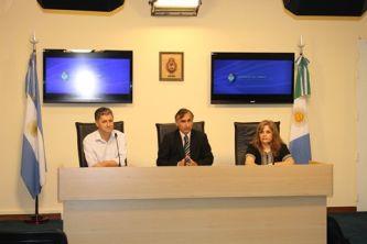 Soto anunció la llegada de un Aula Taller Móvil y las olimpíadas de estudiantes de escuelas técnicas