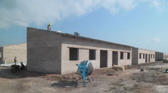 Las nuevas viviendas de la avenida Kirchner de Du Graty, ya están techándose