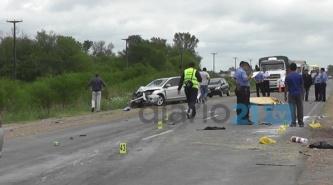 Dos muertos, en otro accidente fatal sobre la ruta 16, cerca de Sáenz Peña