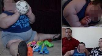 Misael tiene 3 años y pesa 70 kilos: Sus padres piden ayuda