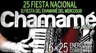 Presentaron la gráfica que se utilizará en la Fiesta Nacional del Chamamé 2015