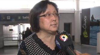 Alicia Terada ya votó como Diputada Nacional