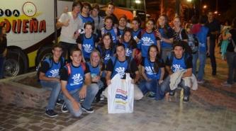 Du Graty: Los ganadores de la ESTUDIANTINA 2014 partieron a Buenos Aires
