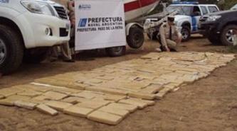 Paso de la Patria: secuestran marihuana por 4 millones de pesos