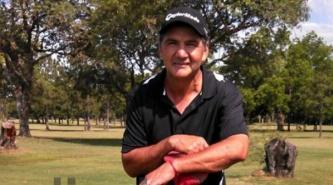 El golfista chaqueño José Coceres trajo ayuda de U.S.A. para el Impenetrable