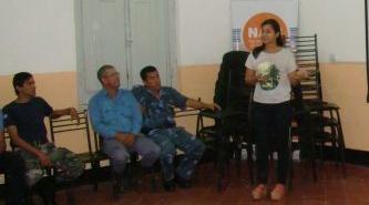 Efectivos de la Policía de Villa Ángela, recibieron capacitación y asesoramiento