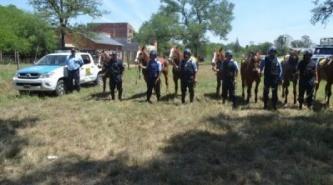 Pampa del Infierno: Detenidos por robar ganado mayor