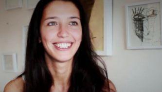 Luciana Vernet, la bella mujer que conquistó al artista chaqueño Milo Lockett
