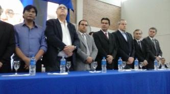 Resistencia: Capitanich lanzó la refacción de la Escuela de Gestión Social del Barrio Toba