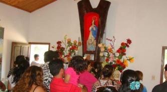 Villa Ángela: Presentaron del Programa de Festejos de la Virgen de la Laguna