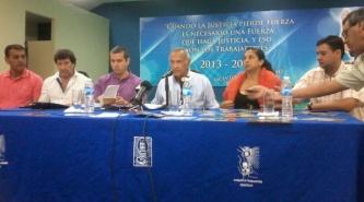 """Sampayó calificó de """"mentirosos, levanta manos y tripagorda"""" a los diputados Morel y Sánchez"""