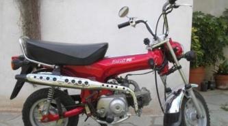 Du Graty: Mientras estaba en una exhibición le robaron su moto