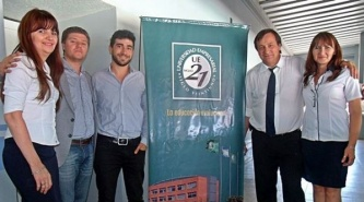Autoridades de Universidad Siglo 21 visitaron el Centro Universitario de Villa Ángela