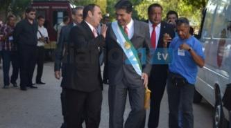 """Un gobernador """"Capitanich recargado"""" con un gran ímpetu inició la Asamblea Legislativa"""