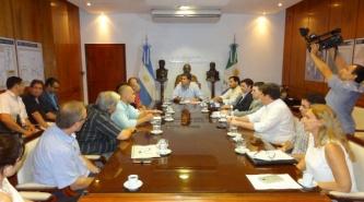 El Gobernador Capitanich recibió a la Cámara de Comercio de Resistencia