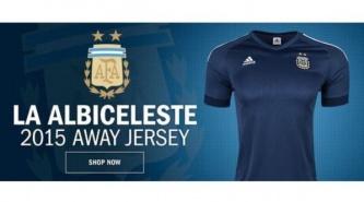 Mirá la camiseta suplente de Argentina para la Copa América