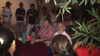 Resistencia: Fabio Biancalani recorrió el barrio Villa San Juan