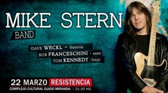 Resistencia: Llega el jazz de lujo con Mike Stern Band al Guido Miranda