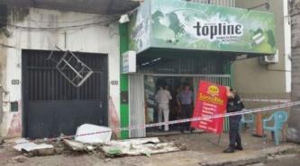 Corrientes: Cayó parte de un balcón e hirió a tres estudiantes