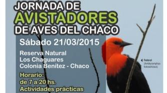 Colonia Benítez: Se viene la primer Jornada de Avistadores de Aves del Chaco