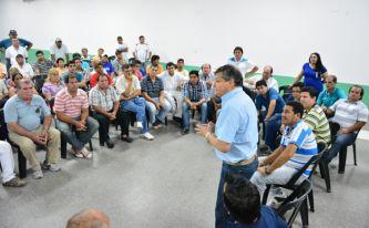 Peppo recibió compromiso de dirigentes del Gran Resistencia de trabajar por su candidatura a Gobernador