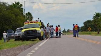 Villa Ángela: Perdió la vida al caer de una camioneta sobre Ruta 95