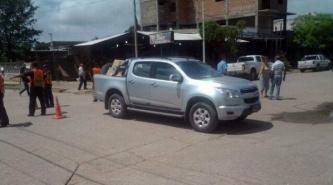 Villa Ángela: Una camioneta se lo llevó por delante cuando volvía del trabajo en su moto