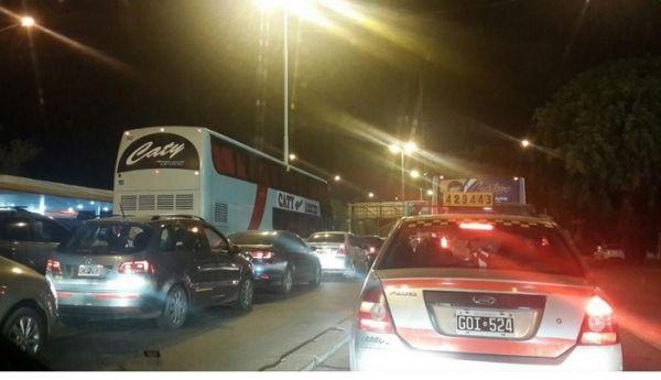 Fue Primicia de Diario 21: Accidente en el Puente General Belgrano