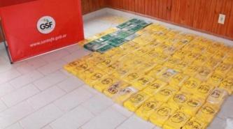 Secuestraron 100 kilográmos de cocaína en el norte de Santa Fe