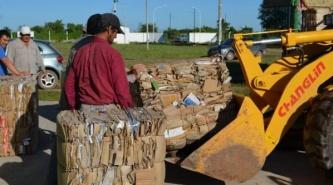 Villa Ángela: segunda venta de materiales reciclados de la Planta de Residuos