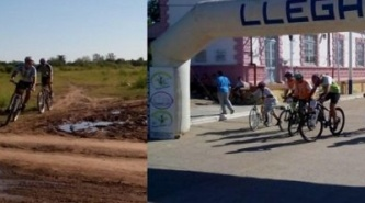 Villa Ángela: Dio inicio el Campeonato de Rural Bike