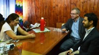 Andrea Charole y el Partido Demócrata Cristiano apoyan a Mauro Flores