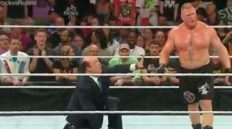 WWE: Suspenden a Brock Lesnar tras ataque a comentarista y camarógrafo