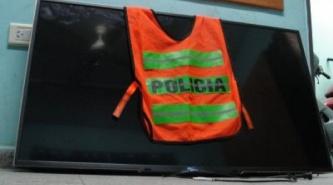 Resistencia: Paseaba por el centro y vio su televisor robado en un local