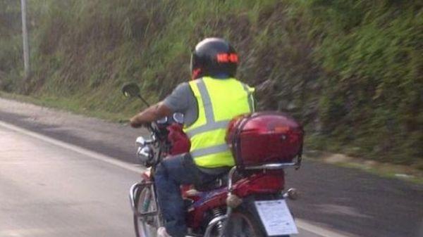 Motociclistas deberán usar chalecos reflectantes para transitar por rutas chaqueñas