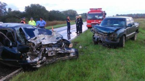 Margarita Belén: Accidente fatal en ruta 11, deja 1 muerto y 7 heridos