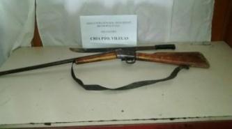 Puerto Vilelas: Amenazaba a una mujer con un machete y ella se defendió con un arma de fuego