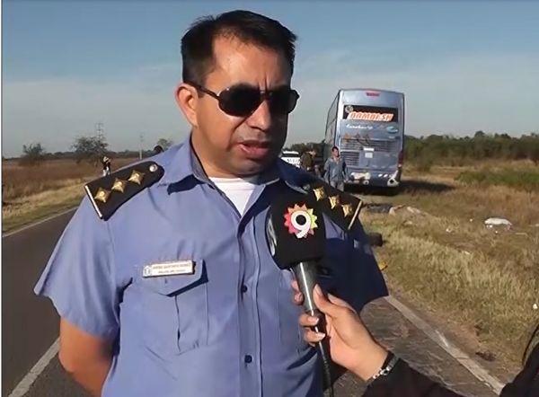 Fatalidad en la ruta de Sáenz Peña: El informe policial
