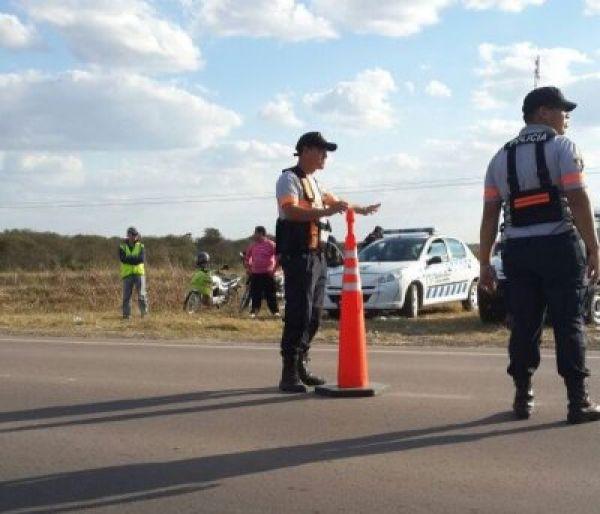 La Policía Caminera realiza operativos de control de velocidad en rutas chaqueñas