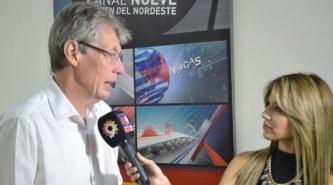 Hugo Sager le hizo su pregunta a Livio Gutiérrez