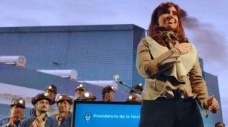 Cristina Kirchner afirmó que en diciembre volverá a Santa Cruz