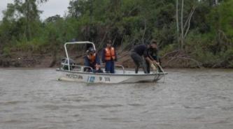 Apareció el cuerpo de la otra mujer que se arrojó desde el Puente Chaco-Corrientes